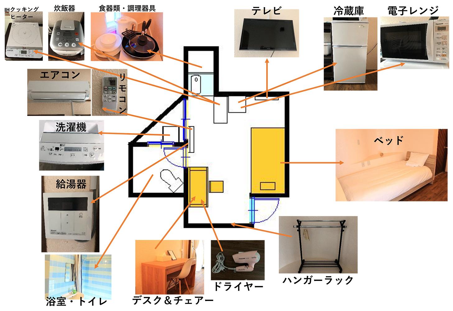 設備(間取り図)